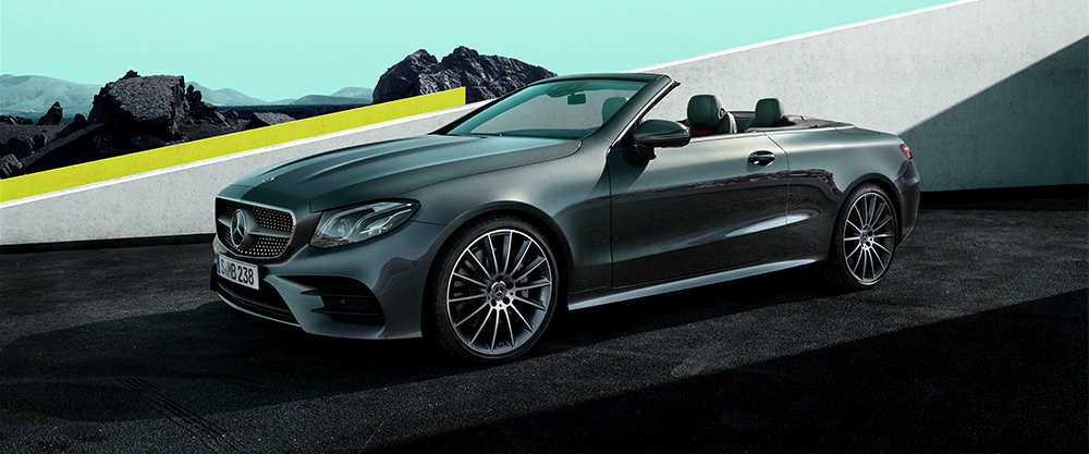Mercedes-Benz E kabriolet | Masterpiece of Intelligence